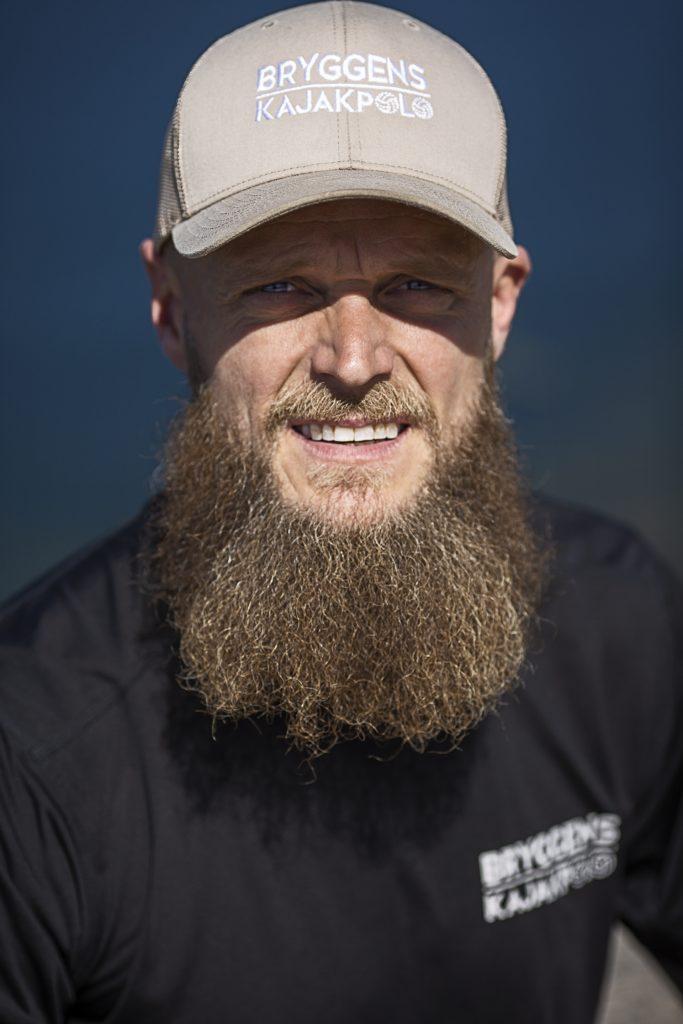Martin Møller indehaver Bryggens Kajakpolo